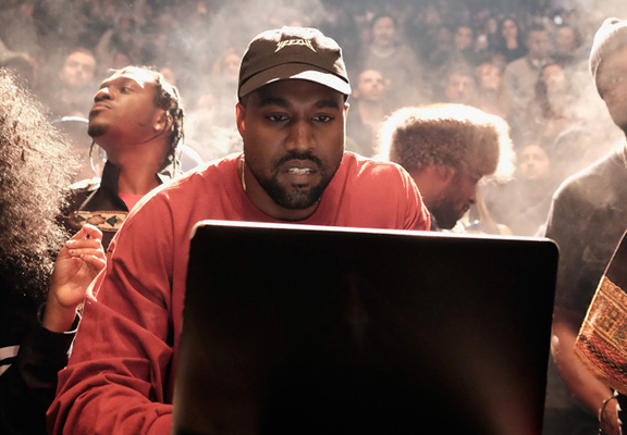 Kanye West Watches Porn Without Sound Because He Likes The Storylines kanye web thumb