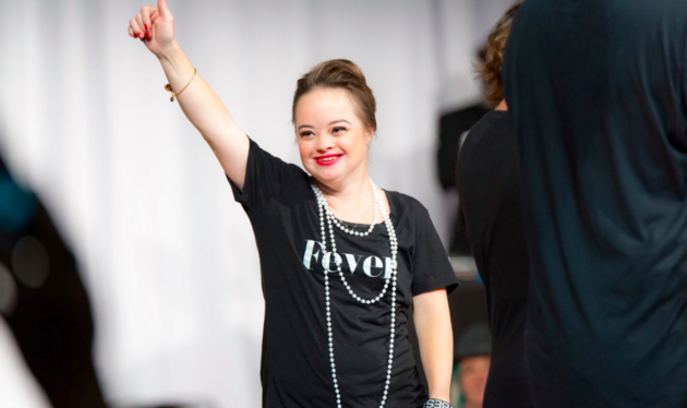 Woman Becomes First Model With Down Syndrome To Land Beauty Campaign katie6