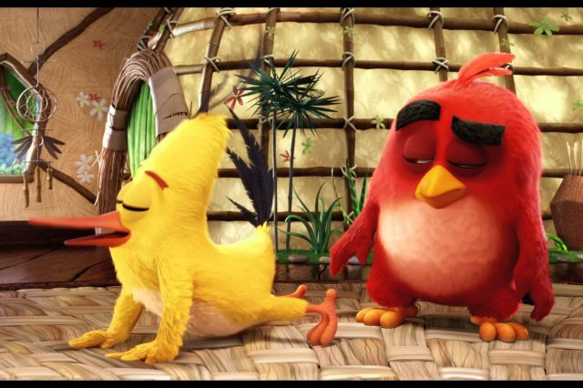 Angry Birds Movie Encourages Audience To Play On Phone During Film, Kind Of maxresdefault 4 3 640x426