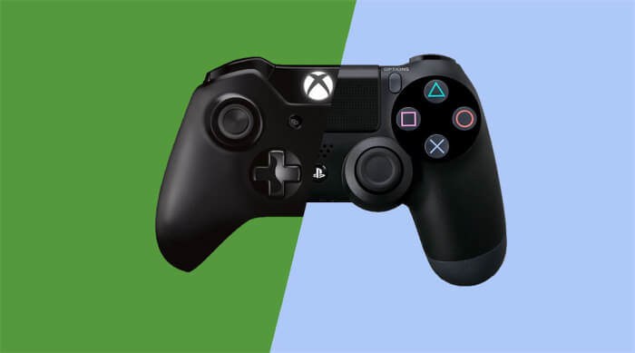 Microsoft Says Xbox One Ready To Work With Cross Platform Play microsoft xbox one ps4 cross platform play controller 700x389