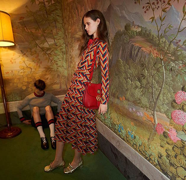 This Gucci Advert Was Banned For Obvious Reasons model
