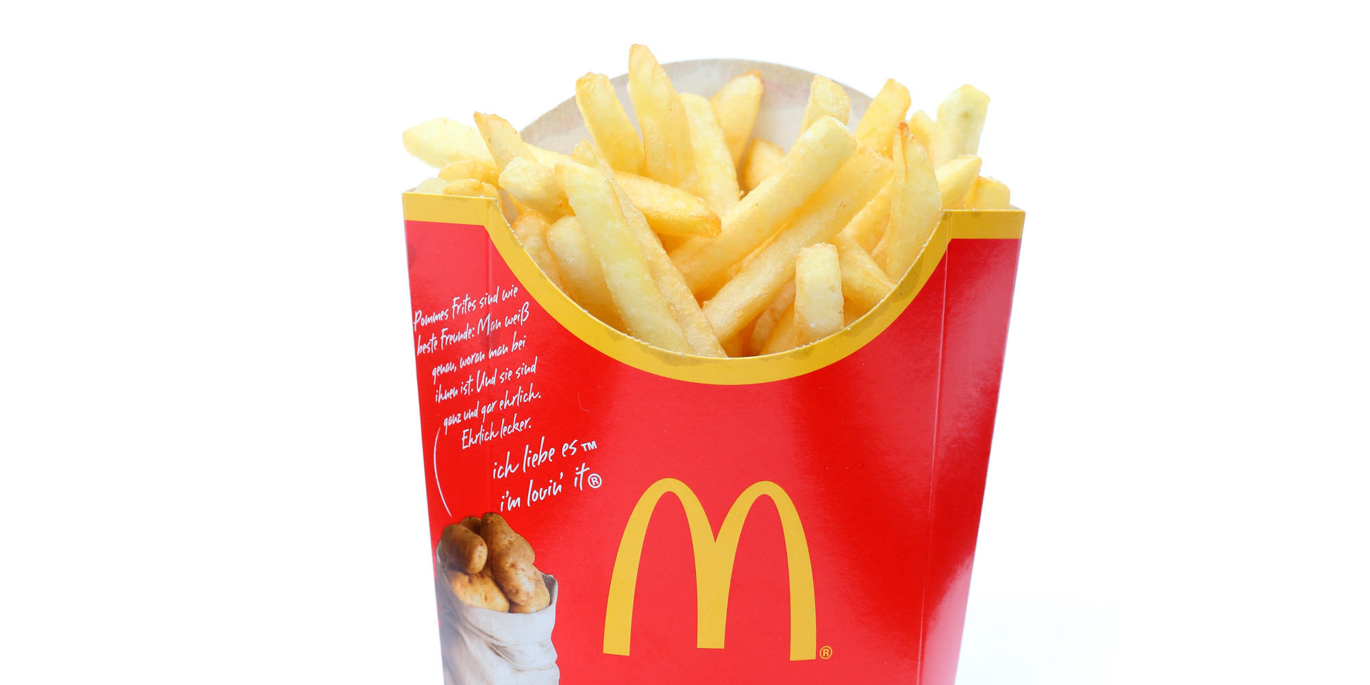 Heres What A McDonalds Meal Looks Like When Its Been Left For 10 Years o MCDONALDS FRIES facebook