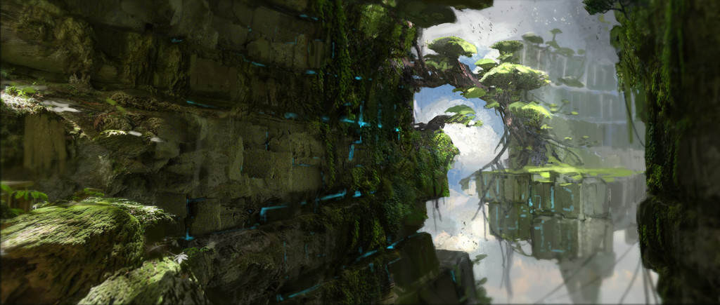 God Of War 4 Concept Art Potentially Leaked, Reveals Awesome New Setting oa38rsykbslc