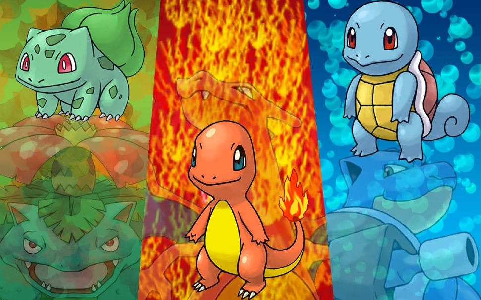 Settling An Ancient Argument: The Best First Gen Starter Pokemon original 1