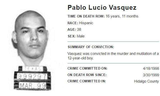 Story Of Vampire Killer Who Scalped Boy,12, Is F*cked Up pablo death row 640x385