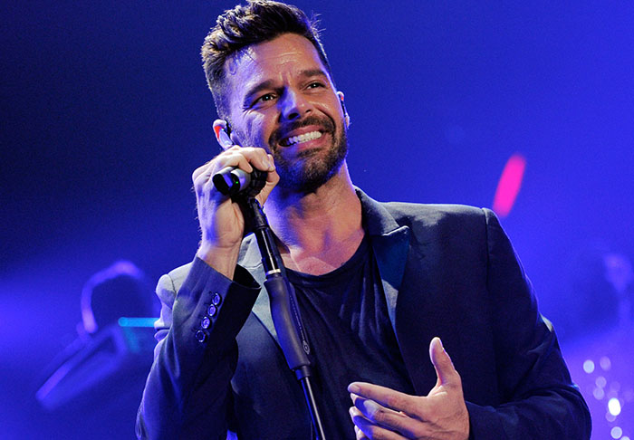 Woman Who Paid To Kiss Ricky Martin Has Disgusting Secret ricky1