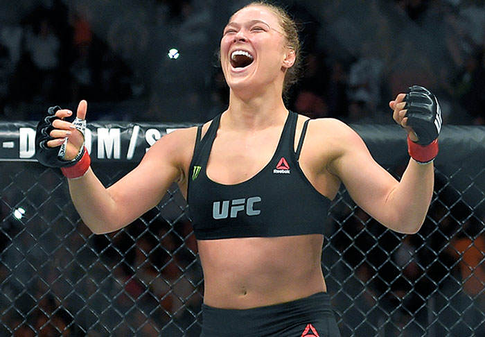 Dana White Reveals When Fans Will See Ronda Rousey Back In Action rousey1