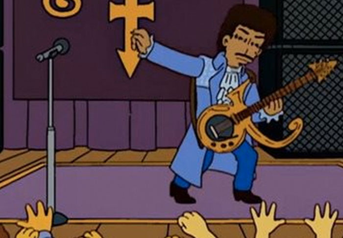 Simpsons Producer Shares Script From Prince Episode That Never Was simpsons1