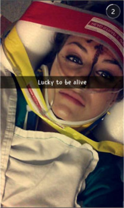 Teen Causes Horrific Car Crash While Playing With Snapchats Speed Filter snap1