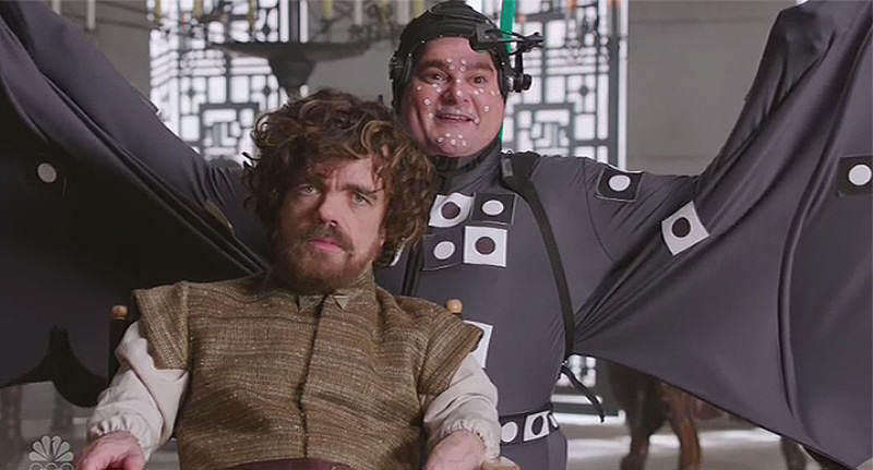 SNL Reveals Hilarious Truth Behind Dragons In Game Of Thrones snl got FB