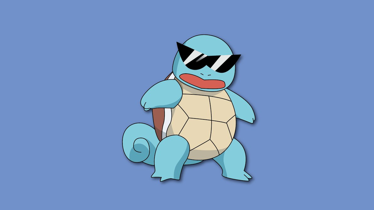 Settling An Ancient Argument: The Best First Gen Starter Pokemon squirtle squad leader by penguinpwnge d8hbm7h