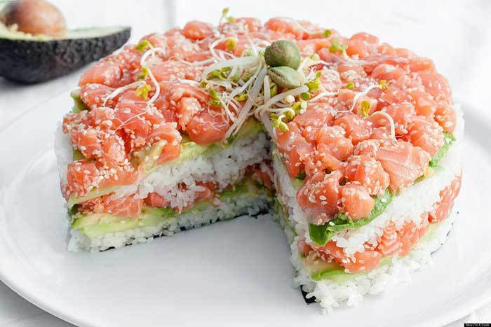 Sushi Pie Is Actually A Thing, But No Ones Quite Sure About It sushi1