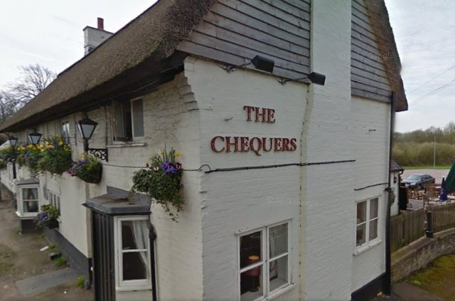Oscar Nominee Stuns Village Pub By Turning Up For Pint the chequers 640x423