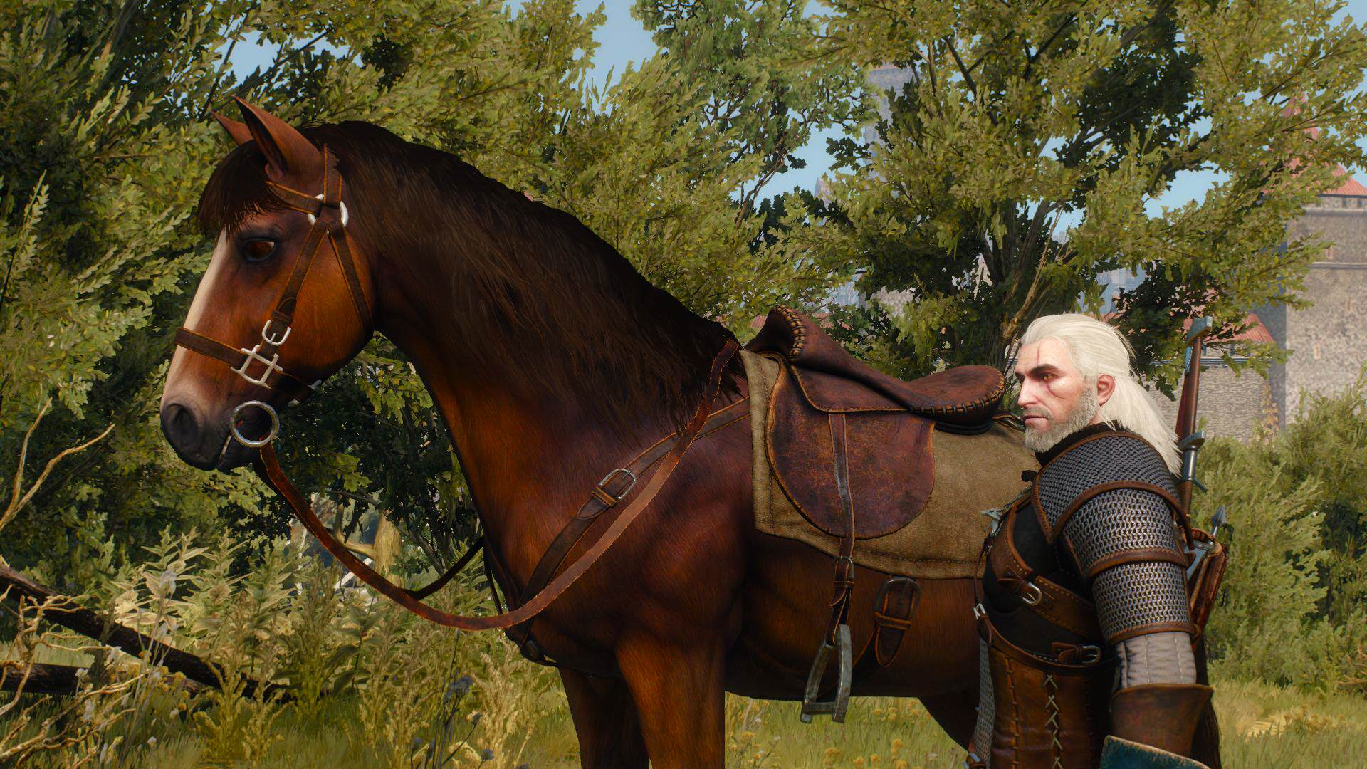 This Witcher 3 April Fools Prank Is Incredible the witcher 3 wild hunt nvidia hairworks horse