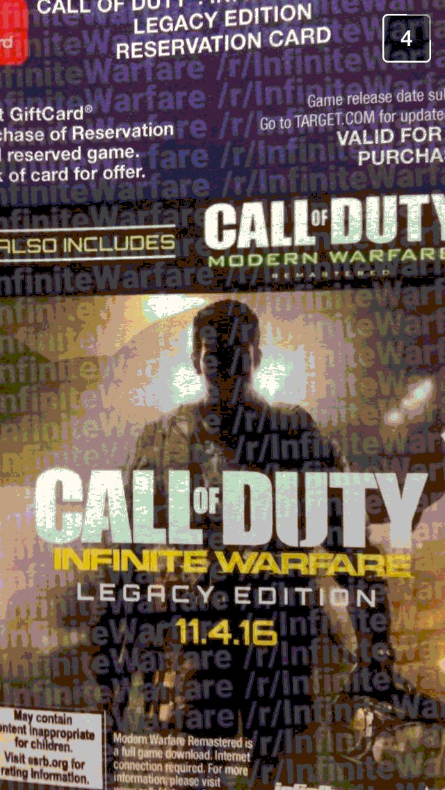 Amazon Listing Suggests Call Of Duty Modern Warfare Trilogy Remaster this years cod is named call of duty infinite warfare 14617489717 1