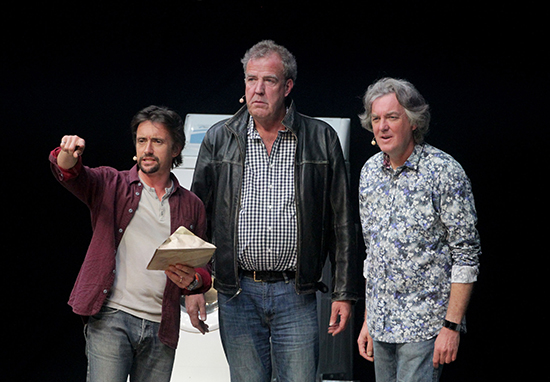Jeremy Clarkson, James May, Richard Hammond Top Gear