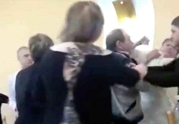 Mass Brawl Breaks Out At Wedding After Bride Pisses Off In Laws wedding web thumb