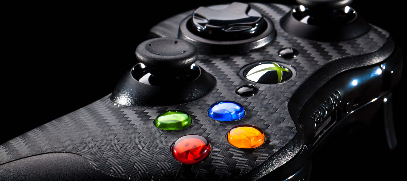 The 10 Greatest Xbox 360 Games Of All Time xbox360 controller side carbon black
