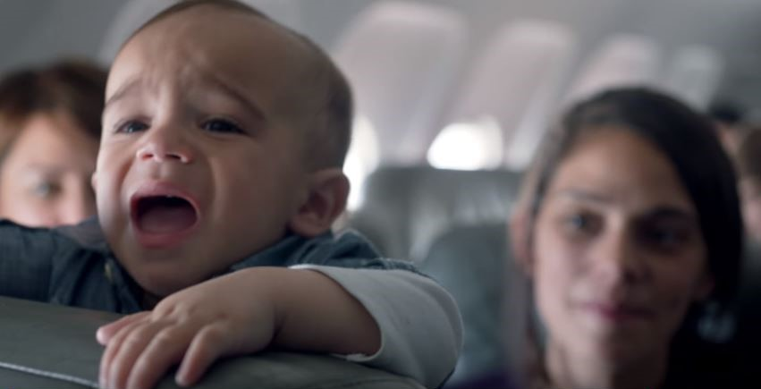 Airline Finds Incredible Way To Turn Crying Babies On Flights Into A Positive 1 2