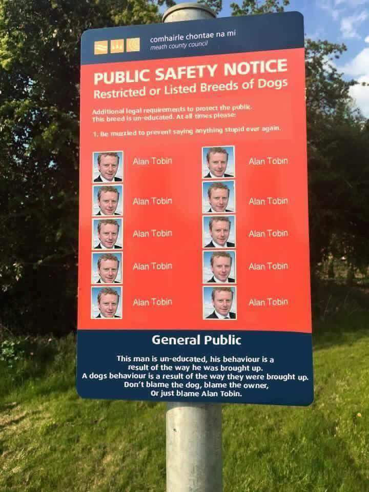 Public Safety Notice: This Irish Politician Is A Danger To Society 13151572 10208701277962134 6629790279619504024 n
