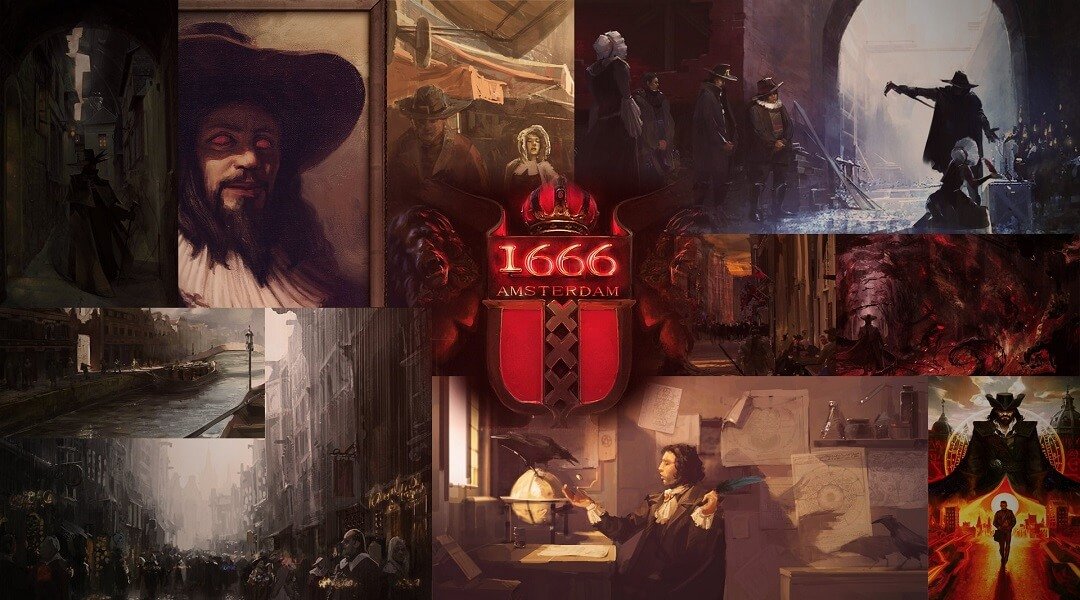 First Footage Of 1666: Amsterdam, The New Assassins Creed Surfaces 1666 amsterdam concept art
