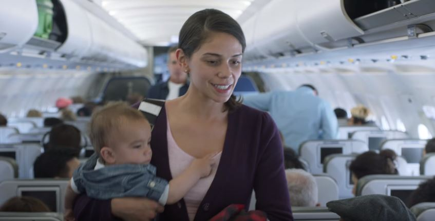 Airline Finds Incredible Way To Turn Crying Babies On