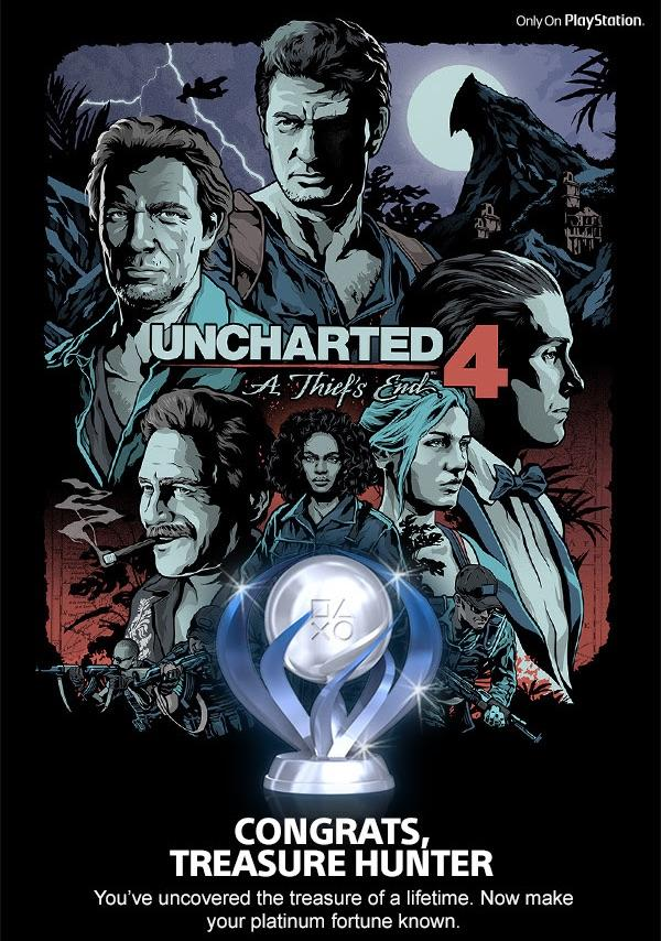 Uncharted 4 Platinum Trophy Owners Receive This Cool Gift 3066882 u4