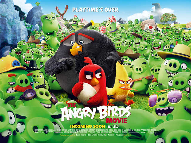 Angry Birds Is Less Angry And More Boring Birds Angry Birds final quad