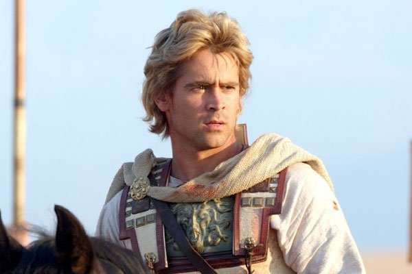 Are These The Worst Miscasts In Movie History? Colin Farrell Alexander The Great