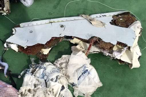 First Audio From Pilot Of Doomed EgyptAir Flight 804 Released Debris of the Egyptair crash 1