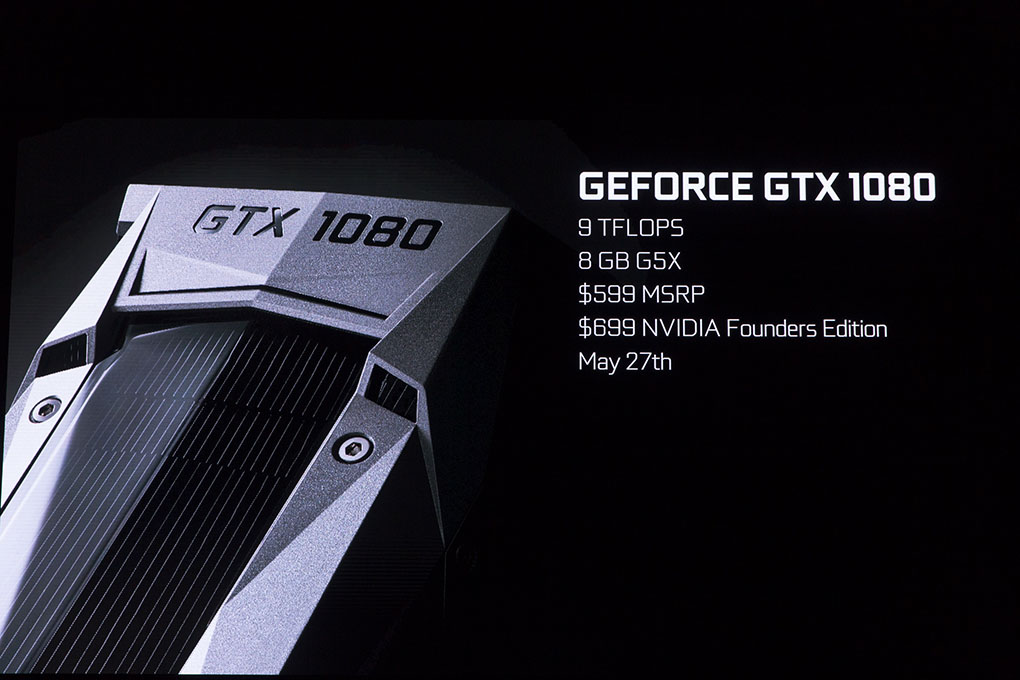 Nvidia Announce Insanely Powerful New Graphics Card GTX1080notes MG 3864