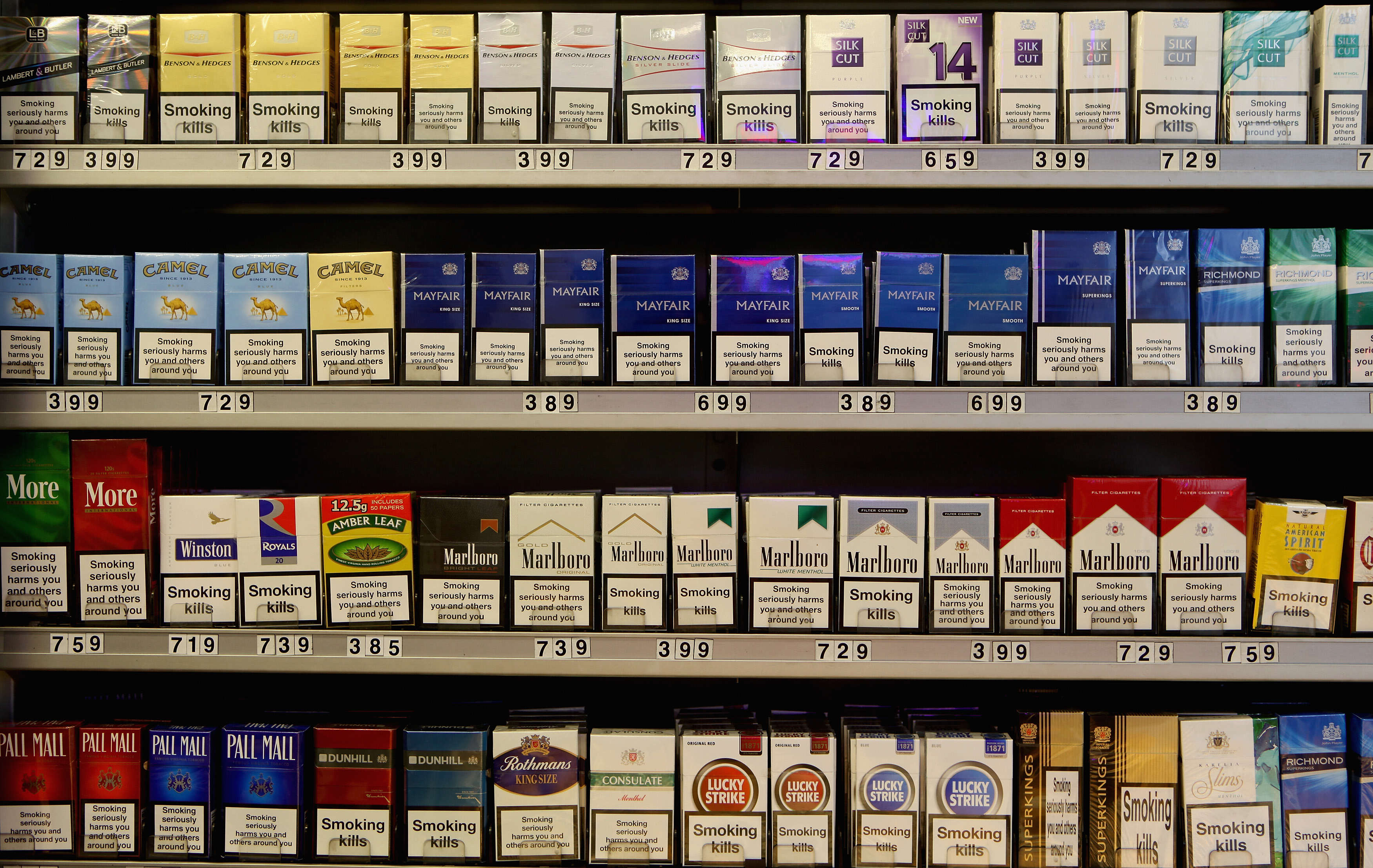 The country with the most expensive cigarettes 30