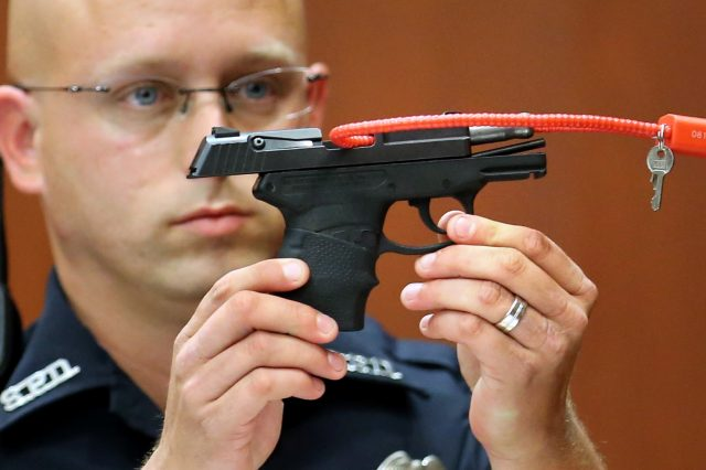 The Man Who Killed Trayvon Martin Plans On Auctioning The Gun For The Most Ridiculous Reasons GettyImages 171790211 640x426
