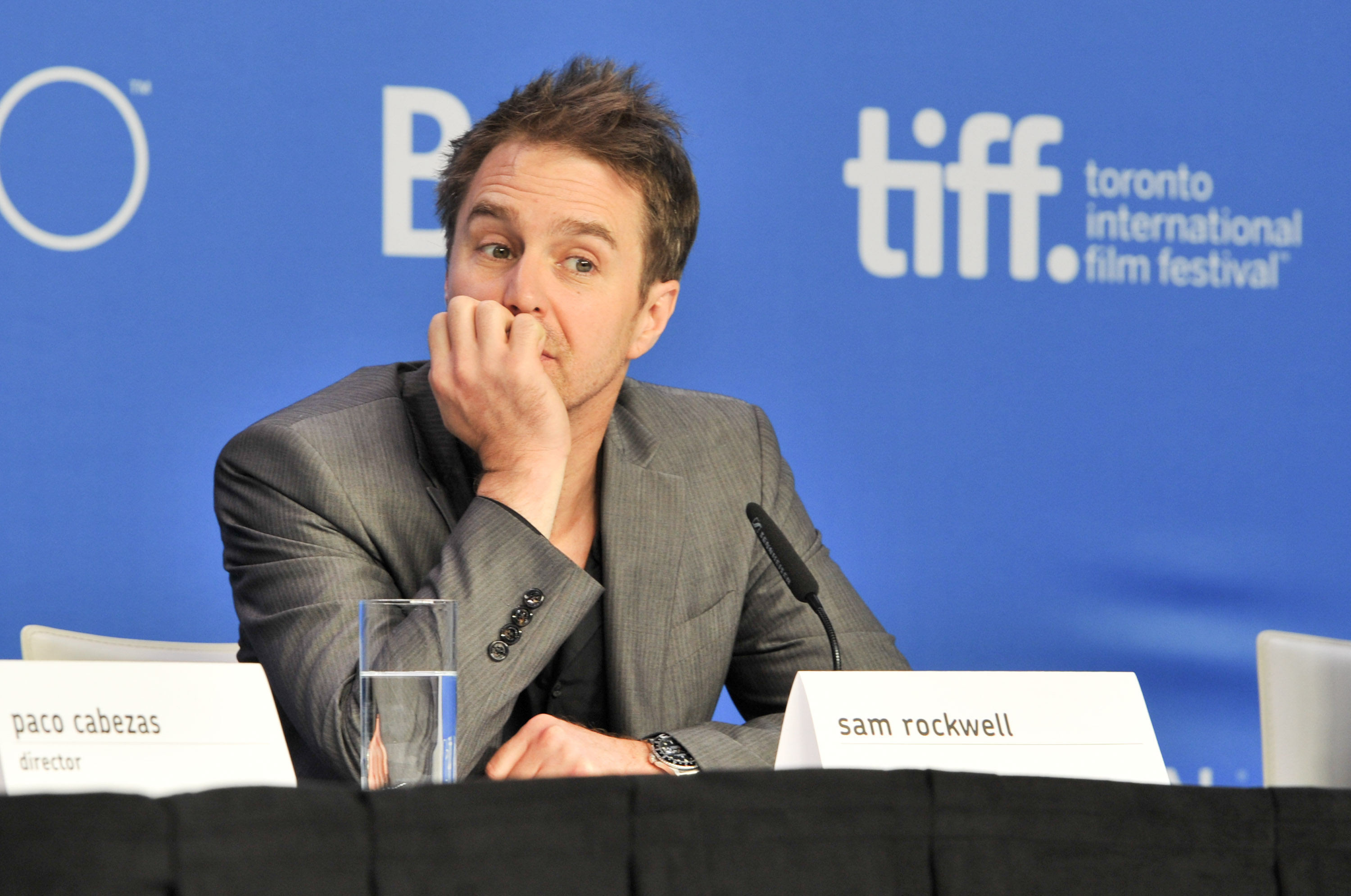 "2015 Toronto International Film Festival - ""Mr. Right"" Press Conference"