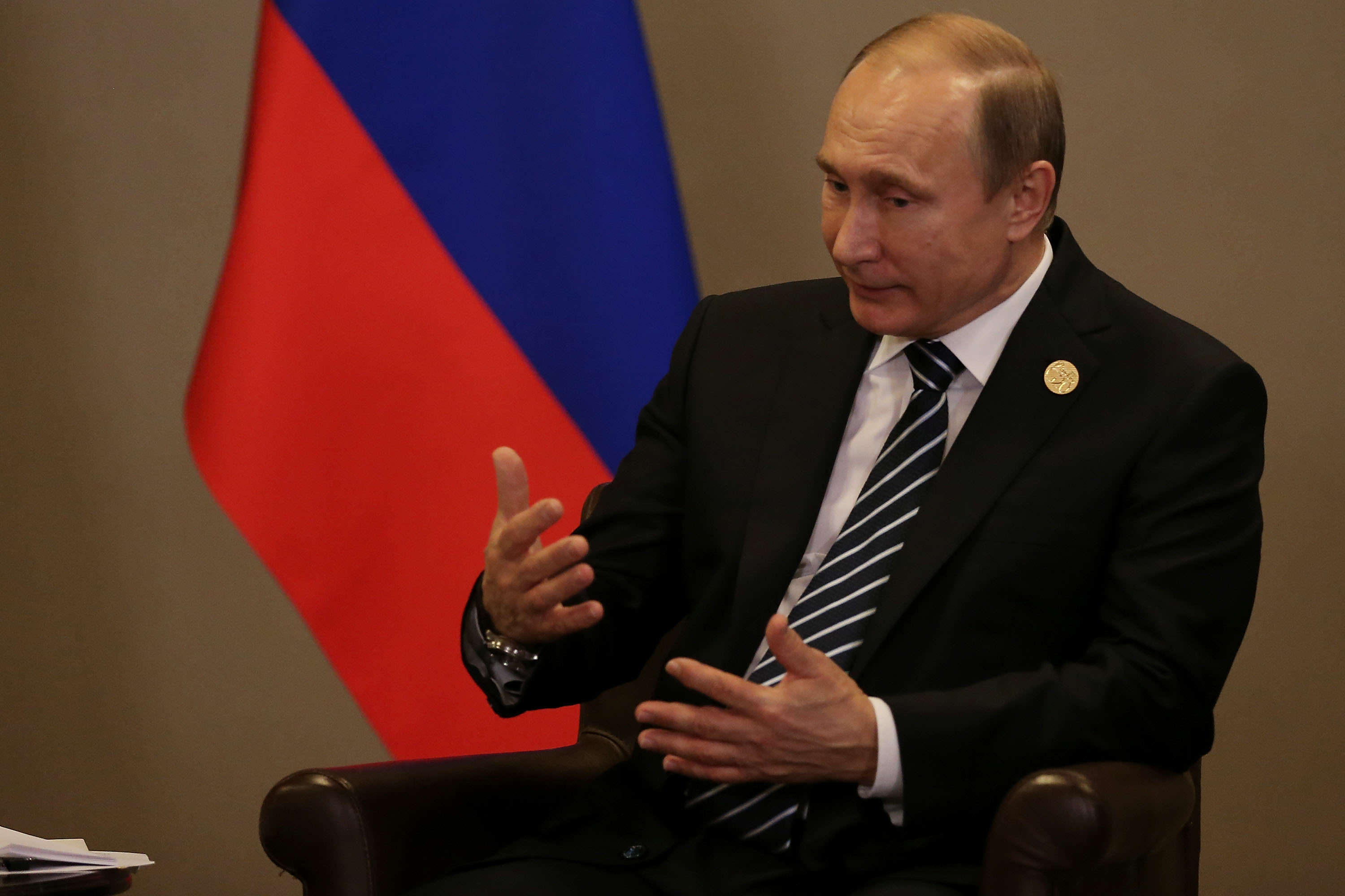 Vladimir Putin Sued Over Shooting Down Of Flight MH17 GettyImages 497359652
