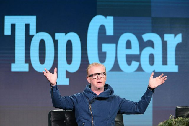 New Top Gear Host Chris Evans Defends TV Rival Jeremy Clarkson GettyImages 504034058 640x426