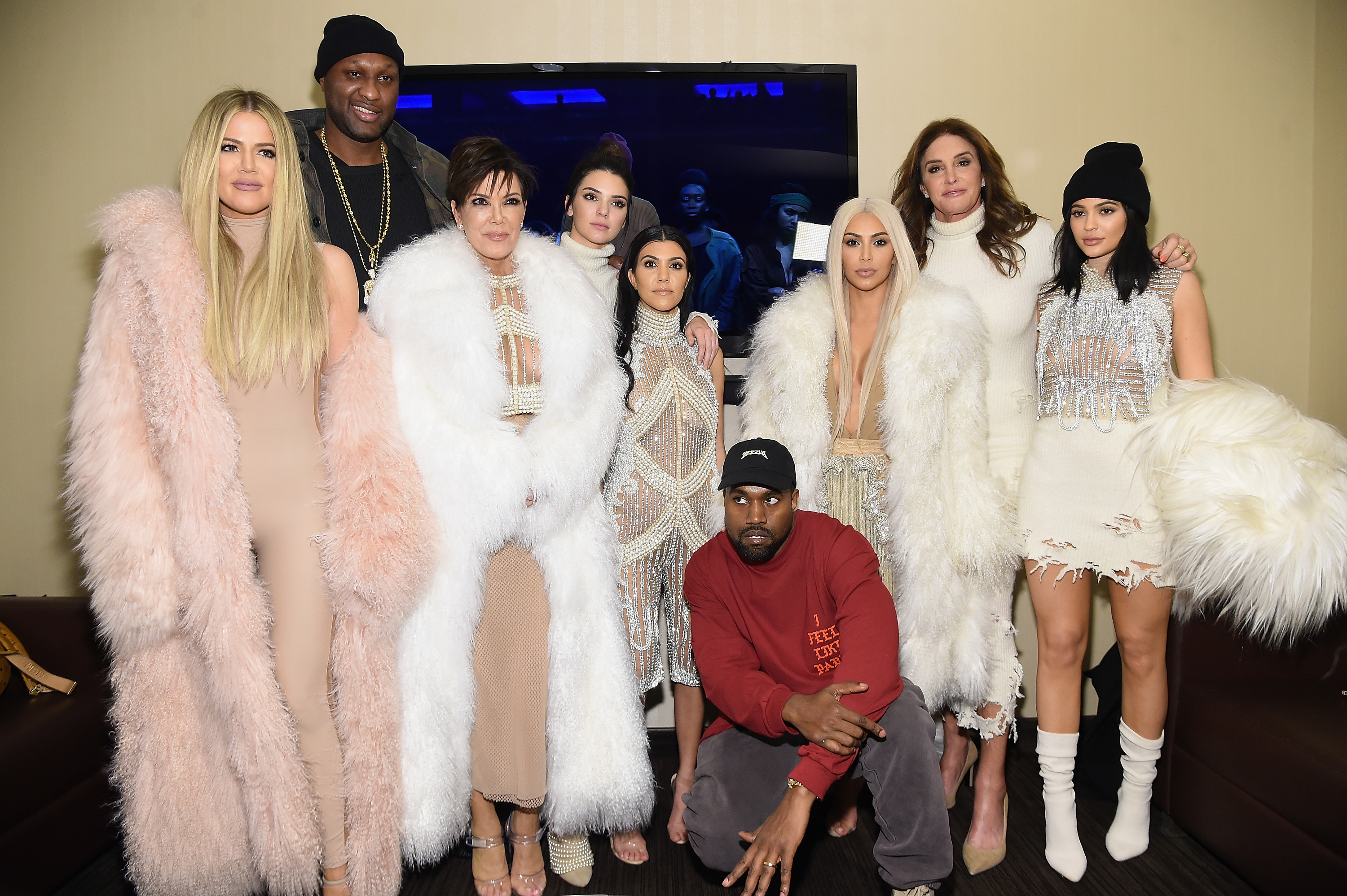 Kim Kardashian Had To Explain Who Caitlyn Jenner Was To Lamar Odom GettyImages 509642778