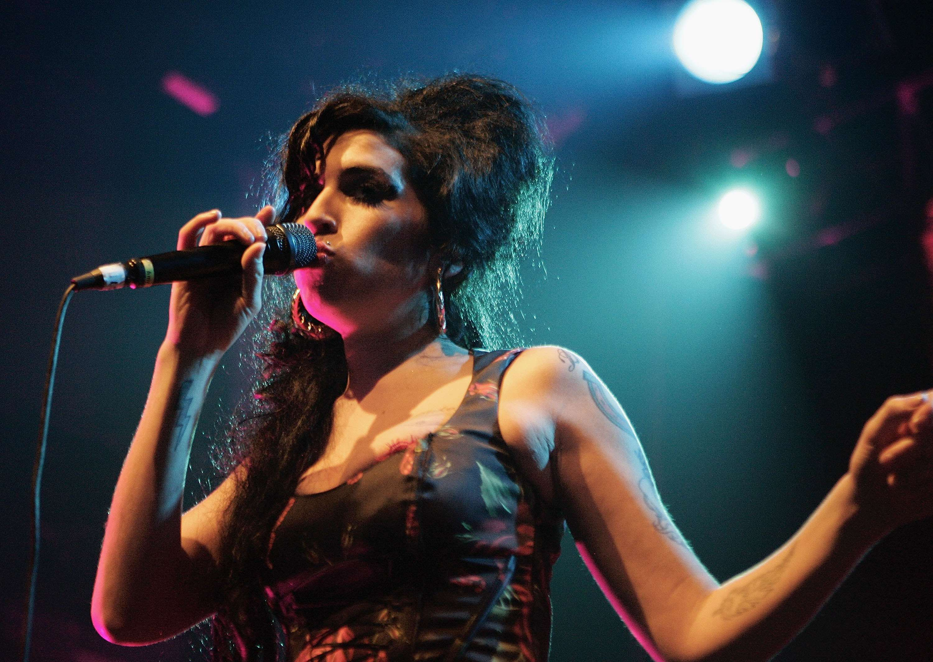 Amy Winehouse Performs At Koko