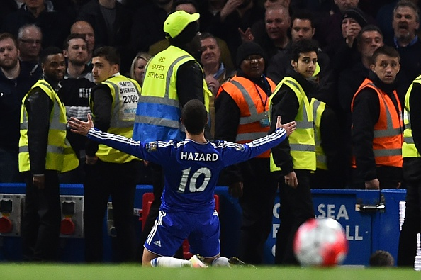 Internet Reacts To Spurs F*cking It Up, Leicester Are Champions! Hazard ben stanstall getty