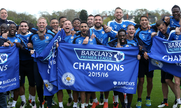 Leicester City Winning The Premier League Gives Football Hope Leicester title win getty plumb images