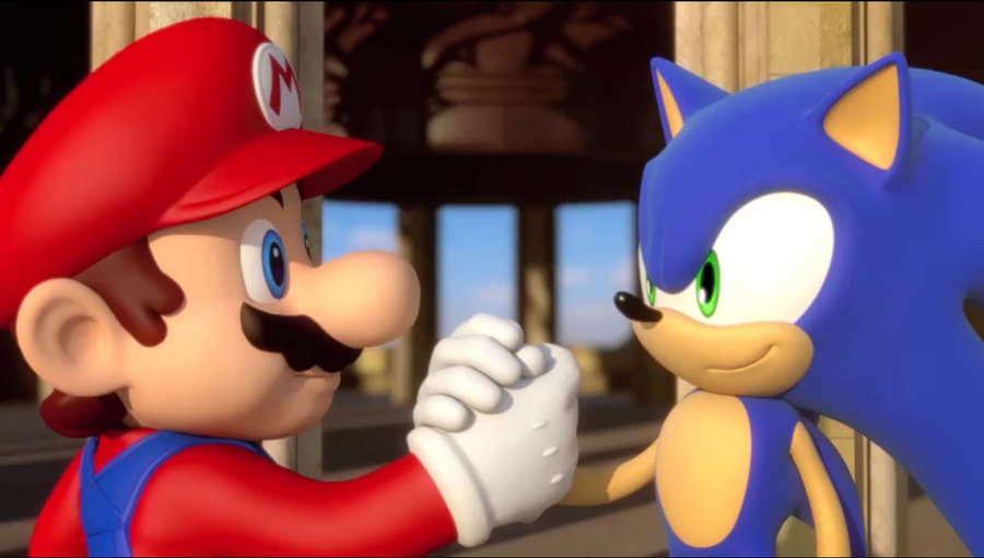 Why Its Time We Chilled Out Over Videogame Reviews Mario Sonic Together1