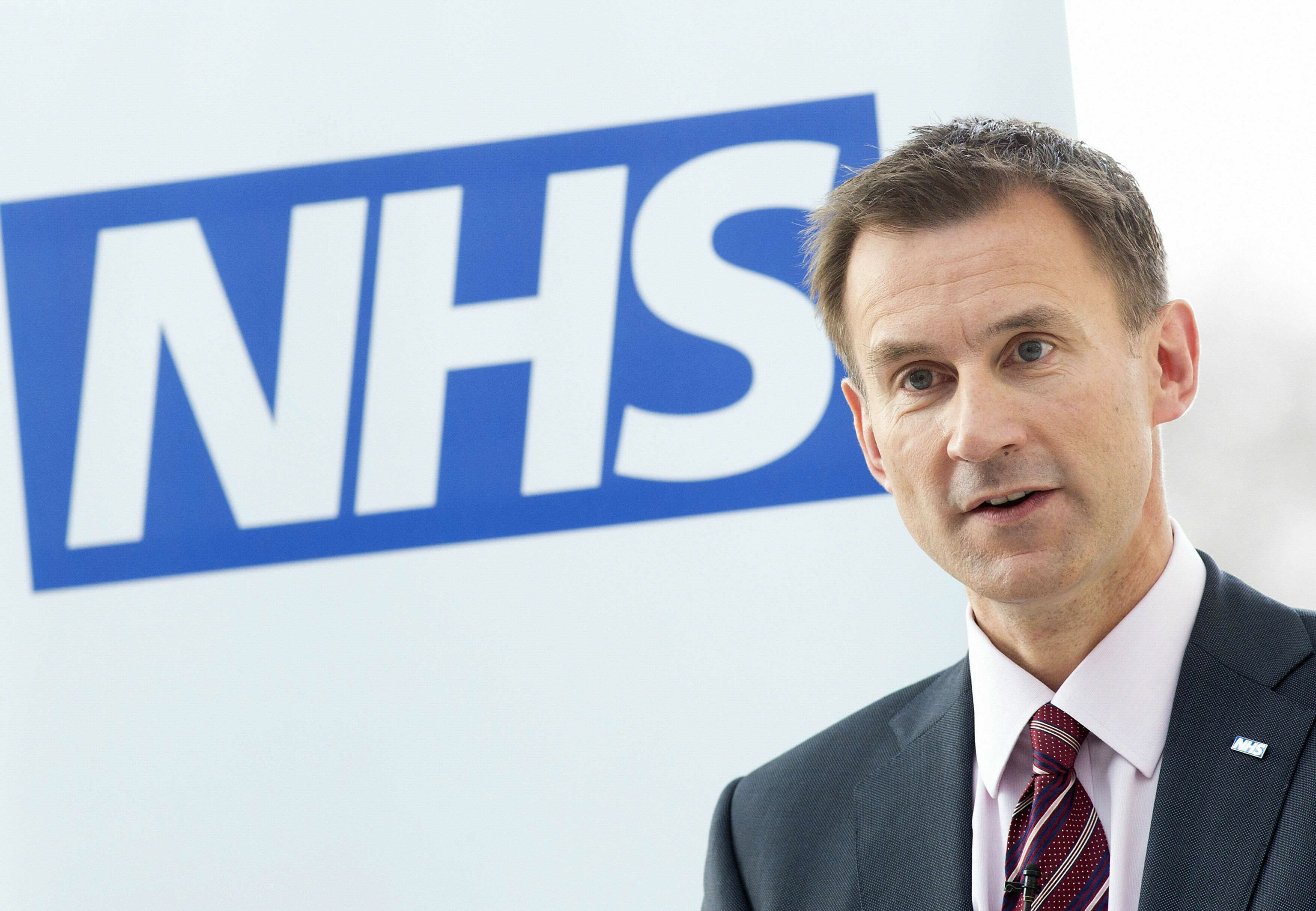 Jeremy Hunt Dressed Down For Using His Phone During NHS Debate PA 25487005