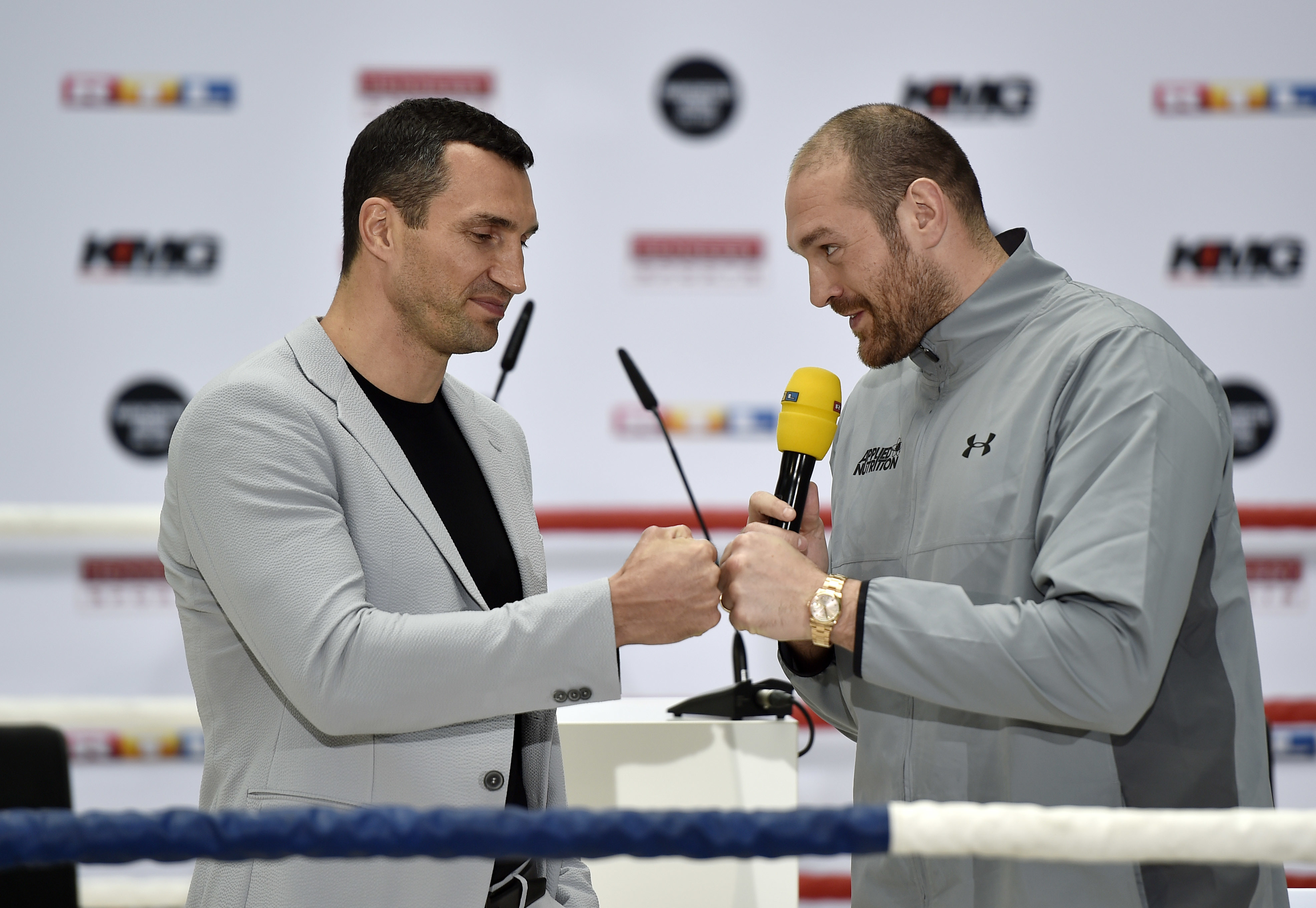 Tyson Furys Reason For Cancelling Klitschko Fight Brings Worst Out Of People PA 26185679
