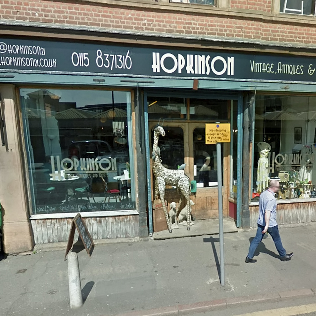 Creepy As F*ck CCTV Footage Shows Ghost Wandering Around Vintage Store SWNS SHOP GHOST 07