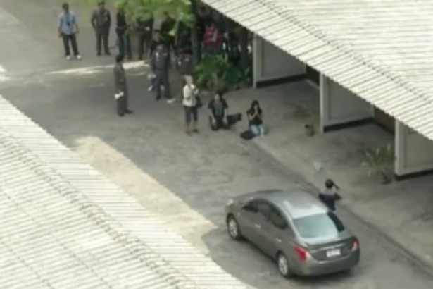 Gunmans Intense Standoff With Police Live Streamed On Facebook Thai PhD lecturer in standoff police