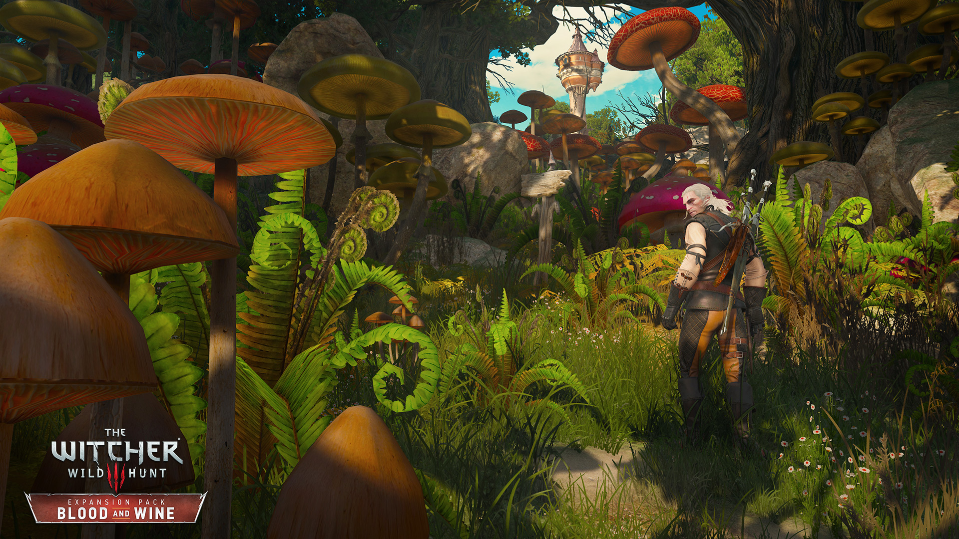 Witcher 3 Blood And Wine Launch Trailer Sets Up Geralts Final Hunt The Witcher 3 Wild Hunt Blood and Wine I think were not in Novigrad anymore RGB EN.0