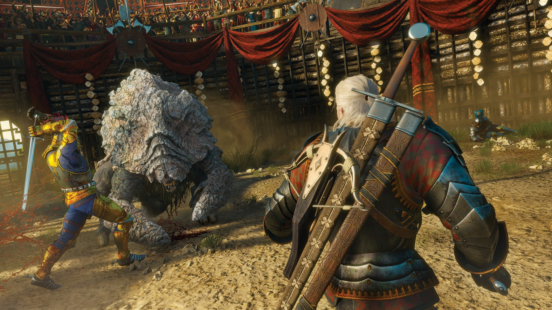 Witcher 3 Blood And Wine Launch Trailer Sets Up Geralts Final Hunt The Witcher 3 Wild Hunt Blood and Wine Sleep tight