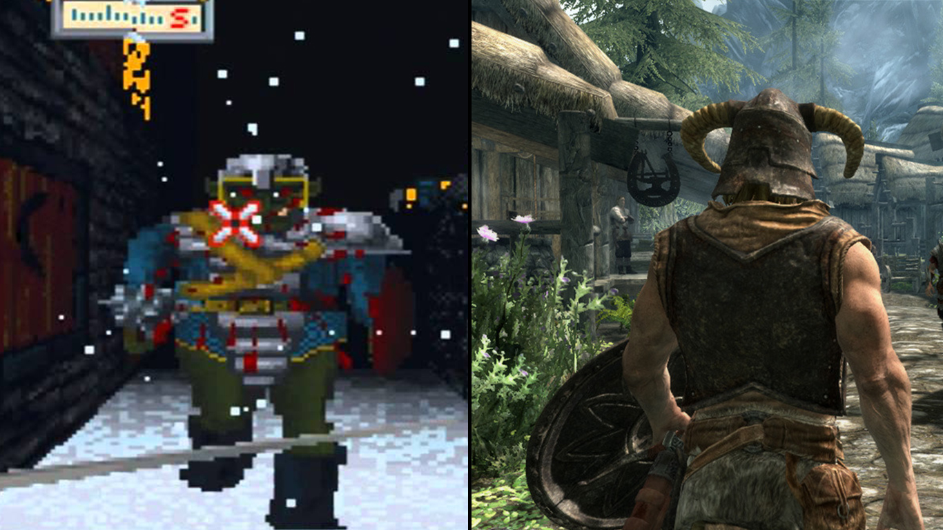 11 Classic Videogame Franchises And Their Incredible Evolutions Untitled 1 22