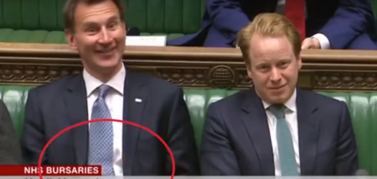 Jeremy Hunt Dressed Down For Using His Phone During NHS Debate Untitled 1