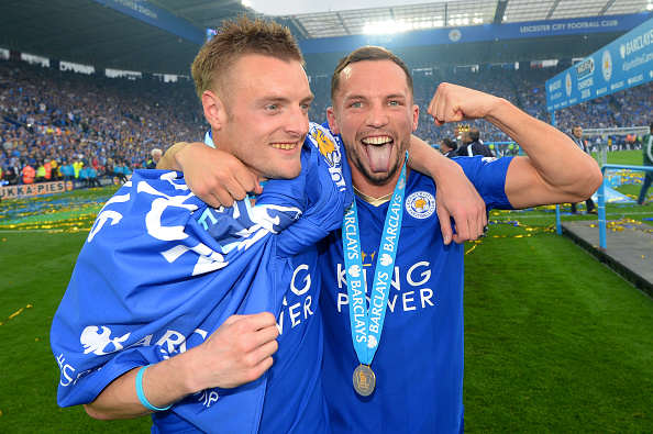 Why Leicesters Incredible Season Gives England Hope Vardy Drinkwater Michael Regan Getty